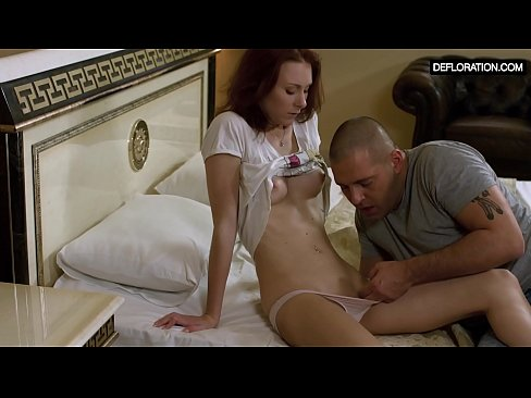Lovely Verka Kalancha and her first sexual intercourse